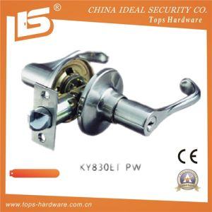 Door Knob Door Cylindrical Lockset Ky830et Pw pictures & photos