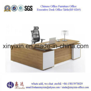 Chinese Wooden Furniture Modern MFC Executive Office Desk (BF-026#) pictures & photos