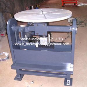 Rotator Rotary Working Tilting Table for Spraying Robot Arm Manipulator Coating Welding Thermal Spray Work Station Equipment