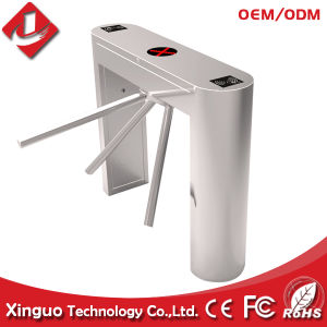 Semi Automatic Tripod Turnstile with RFID Card Reader for Canteen pictures & photos