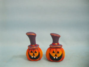 Halloween Pumpkin Ceramic Arts and Crafts (LOE2382-6.5) pictures & photos