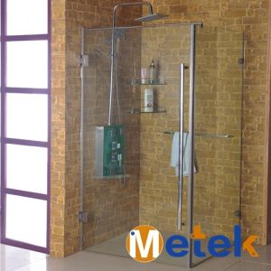 China Glass Sliding Door Roller System Track Shower Door Fitting pictures & photos