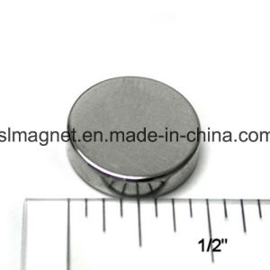 Sintered Round Neodymium/ NdFeB Permanent Magnet pictures & photos