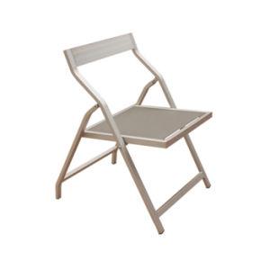 Outdoor Garden Pool Furniture Longe Testilene Aluminum Folding Beach Sunbed Lounger Deck Chair pictures & photos