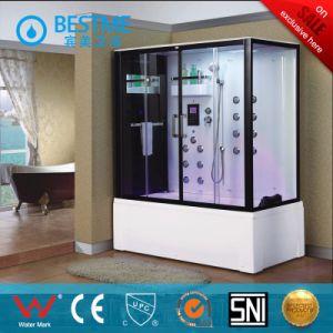 Black Aluminum Multi-Functions Bathroom Steam Room (BZ-5017) pictures & photos