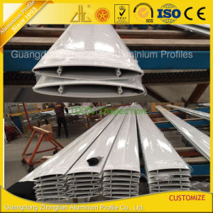 Customized Powder Coated Oval Aluminium Louver Blades pictures & photos