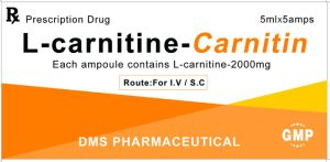 Weight Loss Body Slimming L-Carnitine (Levocarnitine) Formulation 2000mg Injection pictures & photos