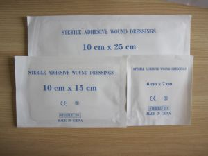 Wound Dressing Material Sterile Wound Care pictures & photos