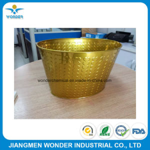 Epoxy Polyester Indoor Mirror Gold Powder Coating for Metals pictures & photos