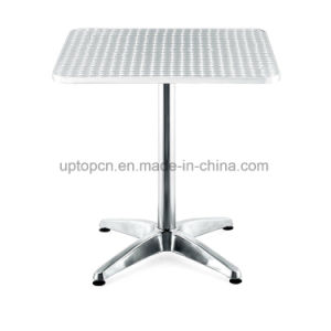 Durable Square Outdoor Metal Restaurant Table with Aluminum Leg (SP-AT362) pictures & photos