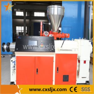 Plastic Conical Twin Screw Extruder, Extrusion Machine, Extruding Machine pictures & photos