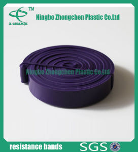 Soft Free Sample Flexible Training Rubber Latex Fitness Band pictures & photos