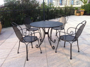 Wrought Iron Furniture Series (Table and Chair) pictures & photos