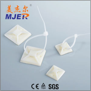 Nylon Self-Adhesive Cable Tie Mounts pictures & photos