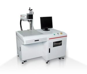 PCB Circuit Board Laser Marking Machine with Factory Price pictures & photos