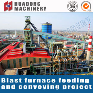 Belt Conveyor for Steel Plant Blast Furnace pictures & photos