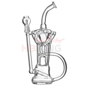 2016 New Arrival Recycle Birdcage Prec Borosilicate Glass Water Pipe pictures & photos