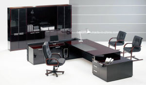 Modern Office Furniture Fashion Design MDF Executive Office Desk (NS-D004) pictures & photos