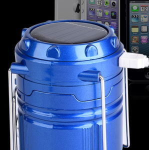 USB Charging Folding Solar Lantern with Power Bank pictures & photos