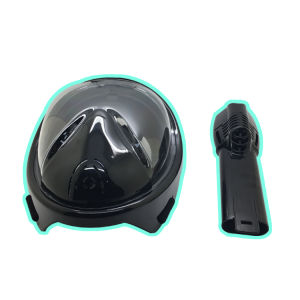 Scuba Diving Chrome Snorkel Mask Free Breathing Equipment Hot Selling in Amazon with and Without Camera Mount pictures & photos