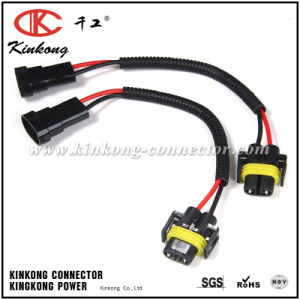 Lamp Connector Wiring Harness Socket for Car Headlight pictures & photos