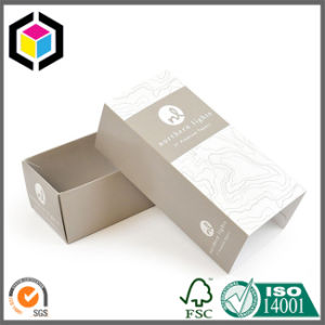 Silver Stamping Logo White Cardboard Paper Perfume Box pictures & photos