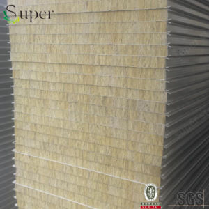 China EPS/Rock Wool/Glass Wool/PU Sandwich Panel pictures & photos