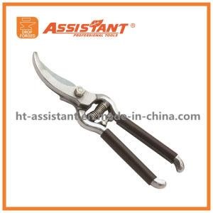 Garden Scissors Hardware Sharp Shears Forged Blade Bypass Pruner pictures & photos