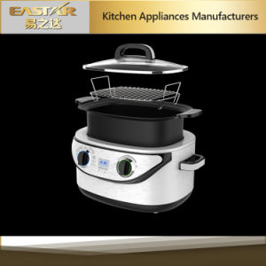 ETL Approval 7 in 1 Slow Cooker Stainless Steel Mc-603D Multi Cooker pictures & photos