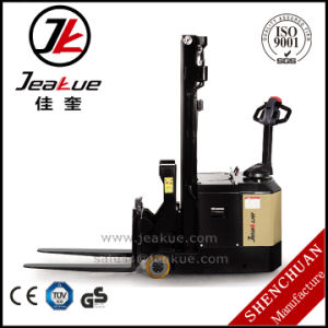 Jeakue 600kg Electric Hydraulic Stacker pictures & photos