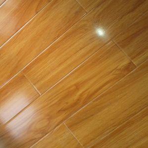 12.3mm U-Groove Laminate Flooring pictures & photos