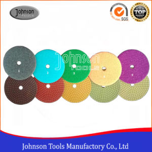5 Steps Very Soft Wet Polishing Pad for Polishing Ston pictures & photos