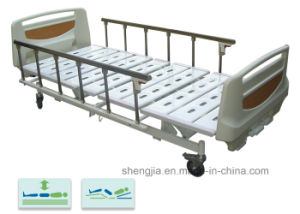 Sjb301mc Luxurious Hospital Bed with Three Revolving Levers