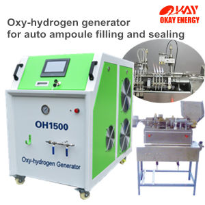 Pharmaceutical Ampoule Auto Filling and Sealing Hydrogen Gas Generator pictures & photos