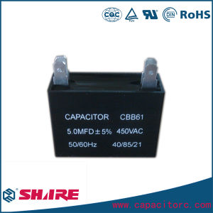 Film Capacitor AC Motor Run Cbb61 Fan Capacitor pictures & photos