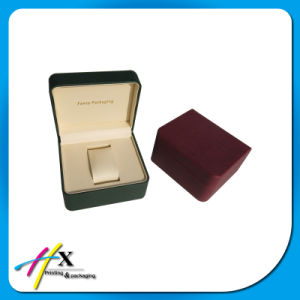 Factory Price High Quality Textured Leather Single Watch Box pictures & photos