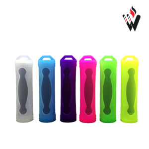 Electronic Cigarette 18650 Battery Silicone Case