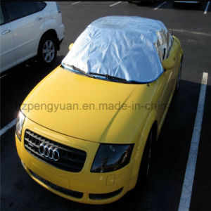 Aluminum Foil Nonwoven Fabric Thermal Reflective Car Cover pictures & photos