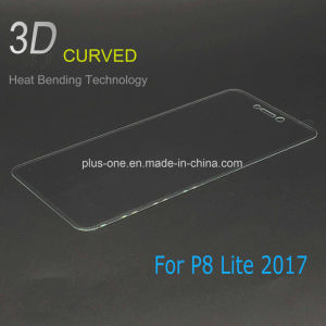 3D Curved Tempered Glass Screen Protector for Huawei P8 Lite 2017 pictures & photos