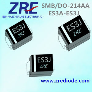 3A Es3a Thru Es3j Super Fast Recovery Rectifier Diode SMB/Do-214AA Package pictures & photos