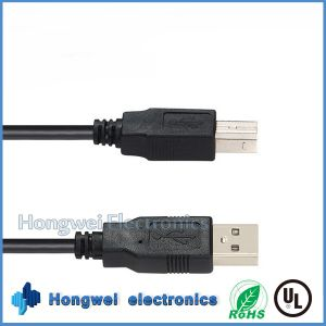 1 M 480 Gbps Standard USB 2.0 Am to Bm Printer USB Cable pictures & photos