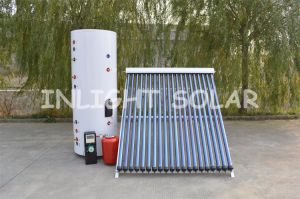 ISO Certified Heat Pipe Vacuum Tube Solar Heating System Manufacturer pictures & photos