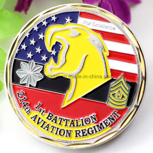 Custom Metal Enamel University Collection Coin pictures & photos