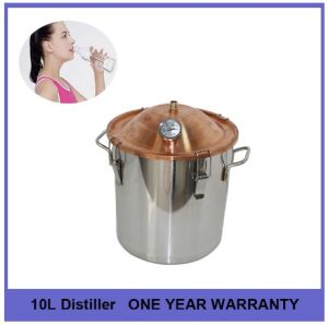 10L 3gal Medical and Beauty Red Copper Cap stainless Steel Moonshine Whiskey Rum Brandy Distiller pictures & photos