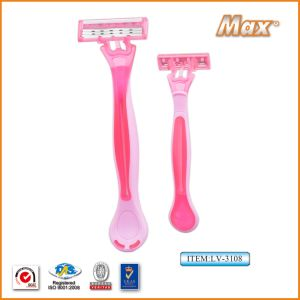 Triple Blade Diaposable Razor Hot Selling pictures & photos