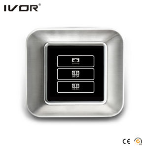 1 Gang Curtain Switch Aluminum Alloy Outline Frame (HR1000-AL-CT(AC1)) pictures & photos