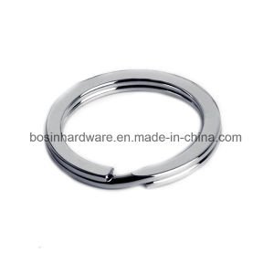 30mm Plain Stainless Steel Key Ring pictures & photos