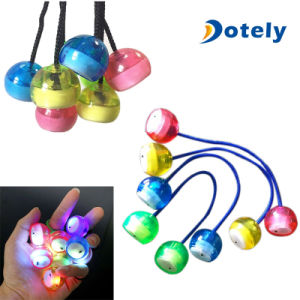 Hot Finger Light up Control Roll Game Yoyo Toy pictures & photos