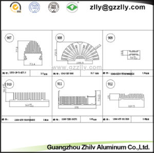 Professional Building Material Aluminum Heat Sink for Engineering Machine pictures & photos