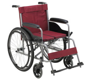 Hot Sale Aluminum Alloy Wheelchair pictures & photos